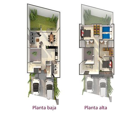 Plantas casa Pisa
