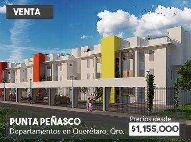 Departamentos en venta en Querétaro